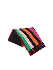 PS by Paul Smith - Multicolor diagonal lines scarf