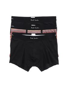Paul Smith - Set 3 boxer con elastico logato