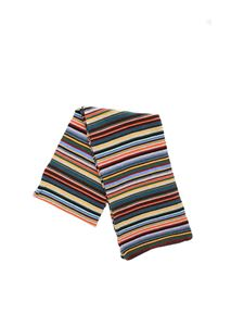 Paul Smith - Multicolor striped scarf