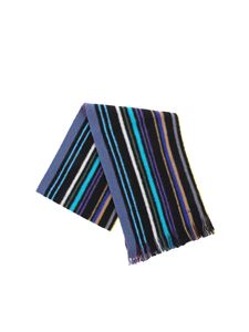 Paul Smith - Black wool scarf