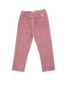 Il Gufo - Velvet trousers in pink