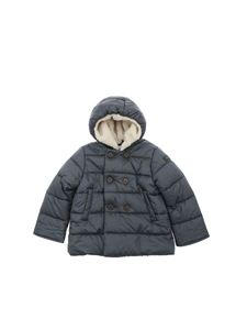 Il Gufo - Down jacket in gray with inner teddy