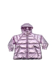 Stella McCartney Kids - Lilac laminated down jacket