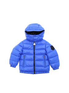 Moncler Jr - Dieppe down jacket in electric blue