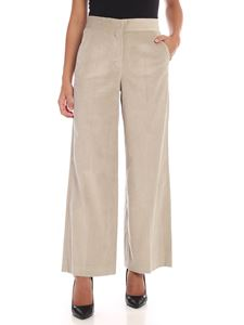 S Max Mara - Stiria trousers in ice color