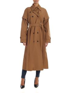 Sportmax - Bembo trench coat in camel color