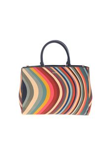 Paul Smith - Multicolor Spring Swirl print bag