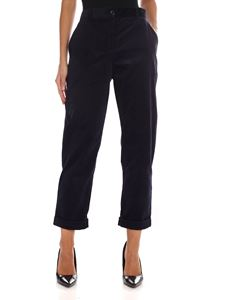 PS by Paul Smith - Blue corduroy trousers