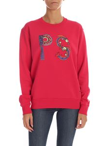 PS by Paul Smith - Fuchsia sweatshirt with printed logo