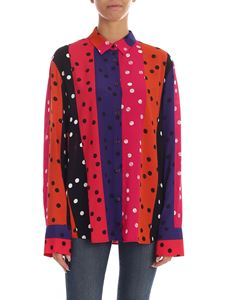 PS by Paul Smith - Striped shirt whit multicolor polka dots