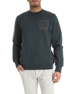 PS by Paul Smith - Green sweatshirt with logo print