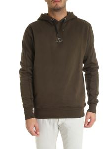 PS by Paul Smith - Hoodie in Army green color