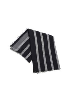 Fabiana Filippi - Black and grey scarf with lamé