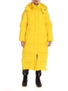 Woolrich - Piumino long fit Aurora giallo