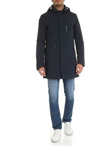 Save the duck - Down parka jacket in blue