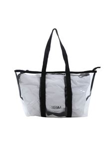 Gum Gianni Chiarini - Seasonless small shopper in white and transparent