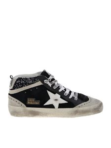 Golden Goose Deluxe Brand - Mid Star sneakers in black
