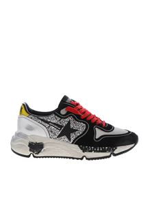 Golden Goose - Sneakers Running sole nere e argentate
