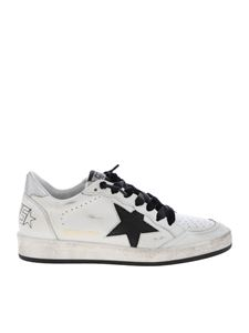 Golden Goose Deluxe Brand - Ball Star sneakers in black and white