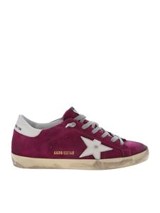 Golden Goose Deluxe Brand - Superstar sneakers in purple color