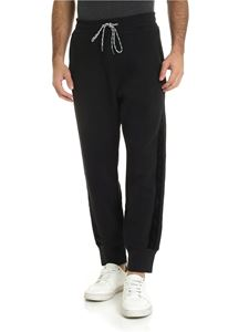 Vivienne Westwood  - Black pants with velvet edges