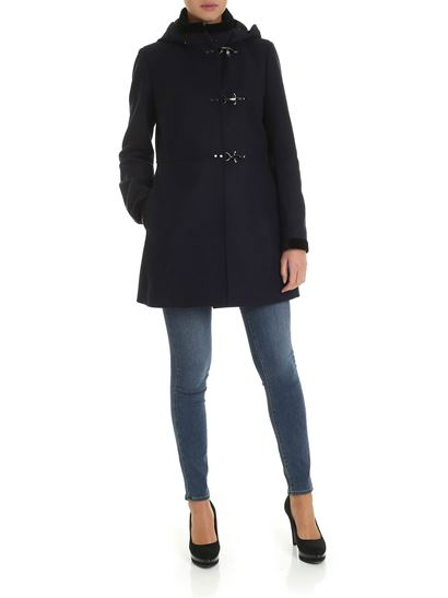 check out fe0cc 1ddae Virginia coat in blue