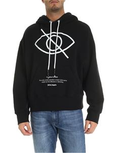 Palm Angels - Sensitive Content hoodie in black