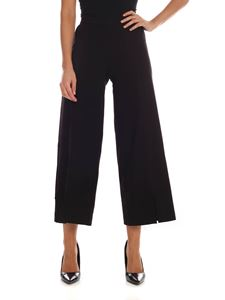 Fuzzi - Cropped pants with vents