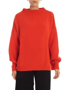Fuzzi - Orange oversize pullover