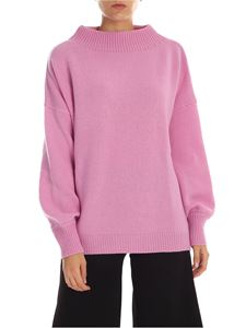 Fuzzi - Oversize pullover in lilac