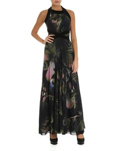 Fuzzi - Butterfly printed tulle dress