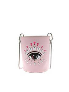 Kenzo - Kontact Eye Mini bucket bag in pink