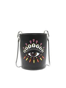 Kenzo - Kontact Eye mini bucket bag in black