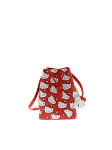 Melissa - Hello Kitty mini bucket in red