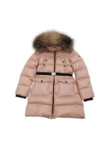 Moncler Jr - Sagnes down jacket in pink