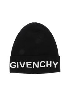 Givenchy - Givenchy logo beanie in black
