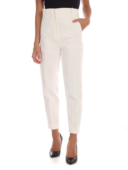 various colors e1936 49639 Tenerezza trousers in white