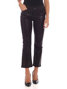 J Brand - Selena trousers in black with coating