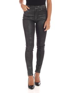 J Brand - Grey trousers with glittered coating