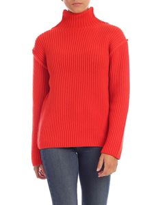 Tory Burch - Turtleneck pullover in red