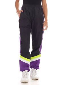 Fila - Ransim pants in purple and black