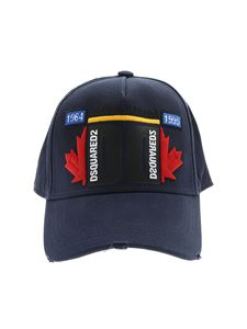 Dsquared2 - Cappello blu Dsquared2
