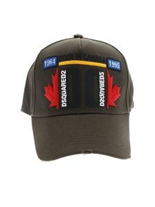 Dsquared2 - Dsquared2 cap in Military green