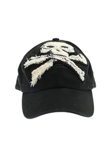 Palm Angels - Cappello da baseball Skull nero