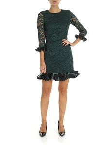 Elisabetta Franchi - Dark green lace dress