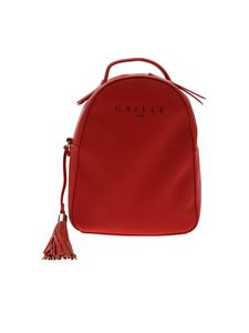 Gaelle Paris - Red backpack with contrasting logo
