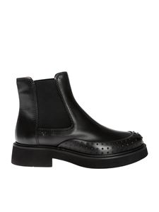 Tod's - Ankle boots in black leather