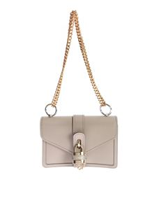Chloé - Aby Motty Gray shoulder bag with chain