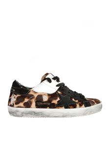 Golden Goose - Sneakers Superstar animalier