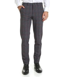 RRD Roberto Ricci Designs - Checked Winter Queen trousers in blue